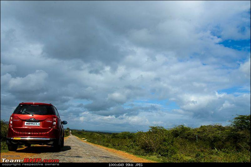 Optimus Prime - Tuscan Red Mahindra XUV5OO W8 ownership report-suh_4167.jpg