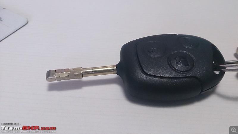 Ford Fiesta 1.4 TDCi - 100,000 kms update at 14th Service-classic-key.jpg