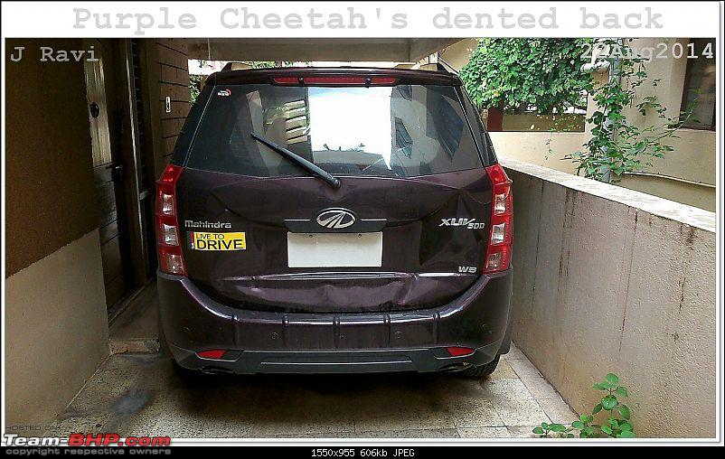 Mahindra XUV500 W8 FWD: My Pet Purple Cheetah-kutralam3.jpg
