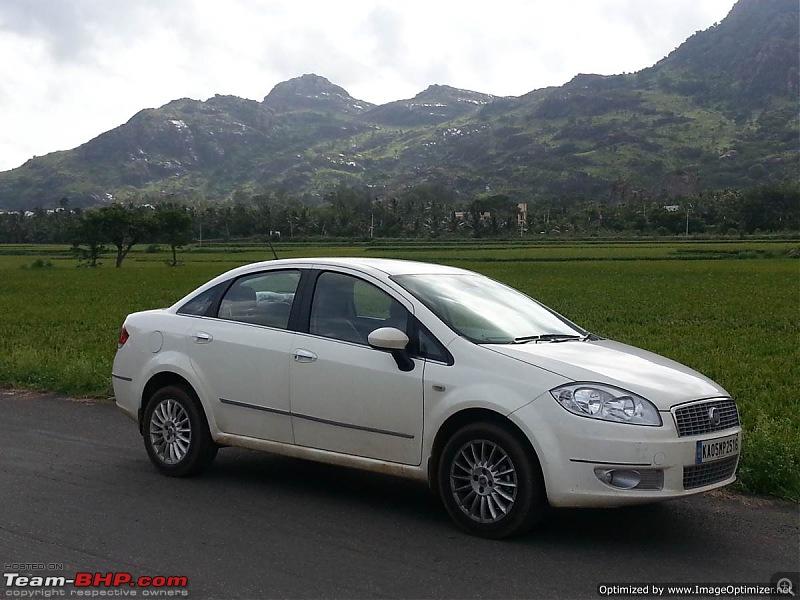 Unexpected love affair with an Italian beauty: Fiat Linea MJD. EDIT: 1,00,000 km up!-20140830_154302optimized.jpg