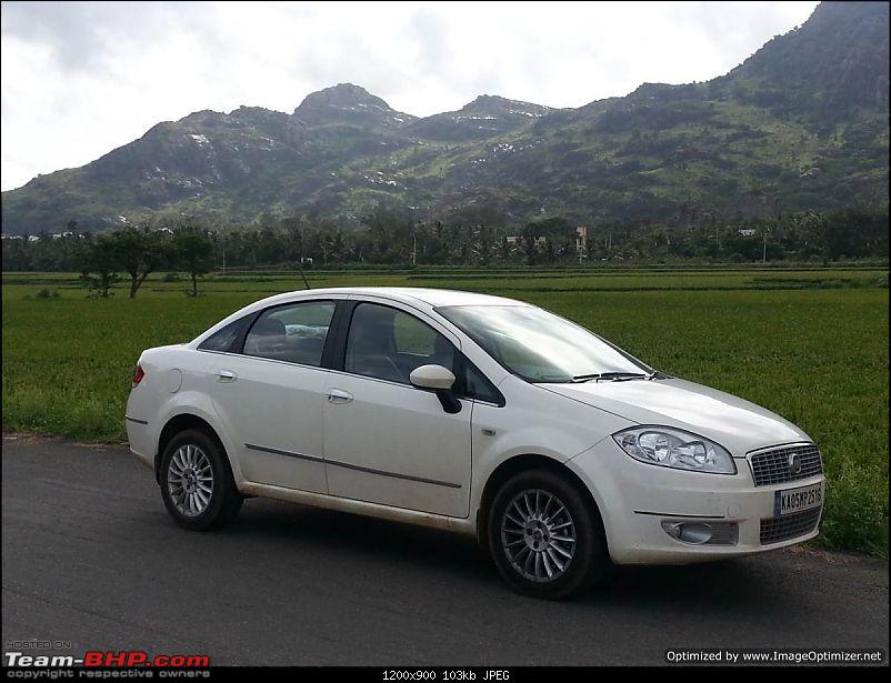 Unexpected love affair with an Italian beauty: Fiat Linea MJD. EDIT: 3 years and 1,07,310 km up!-20140830_154302optimized.jpg