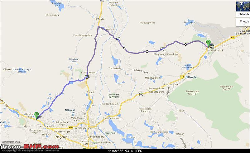Unexpected love affair with an Italian beauty: Fiat Linea MJD. EDIT: 3 years and 1,07,310 km up!-nagercoil-byepass.jpg