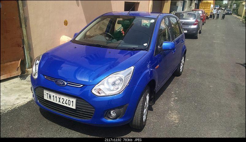 My Kinetic Blue Ford Figo Titanium Diesel-after-3.jpg