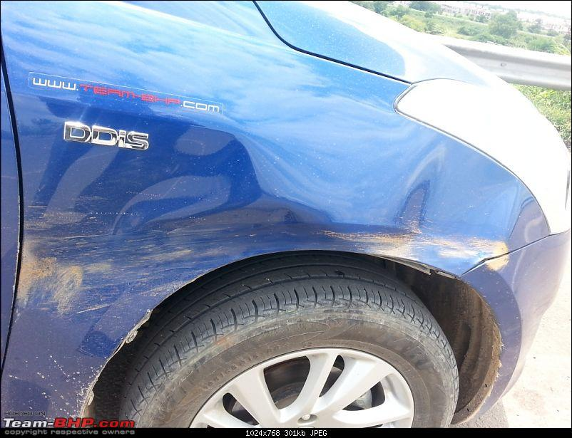 The story of a Blue Streak a.k.a Maruti Swift ZDi (Torque Blue). 1,20,000 km up & now sold-20140914_122553.jpg
