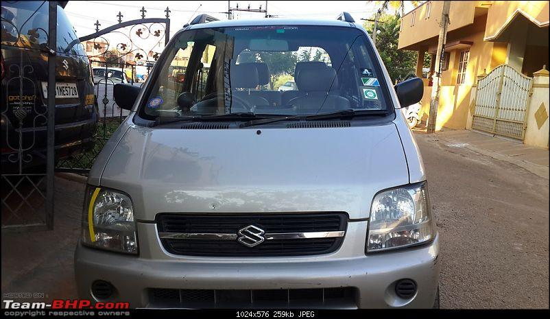 My Maruti Wagon-R F10D: 14 years, 255,000 kms-front-grille.jpg