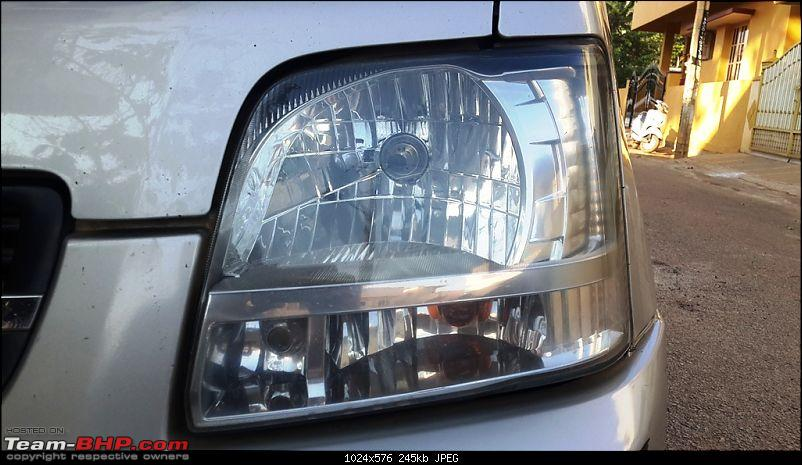 Maruti Wagon-R F10D: 223,000 kms & the first accident. Edit: Now fixed-headlight-right.jpg