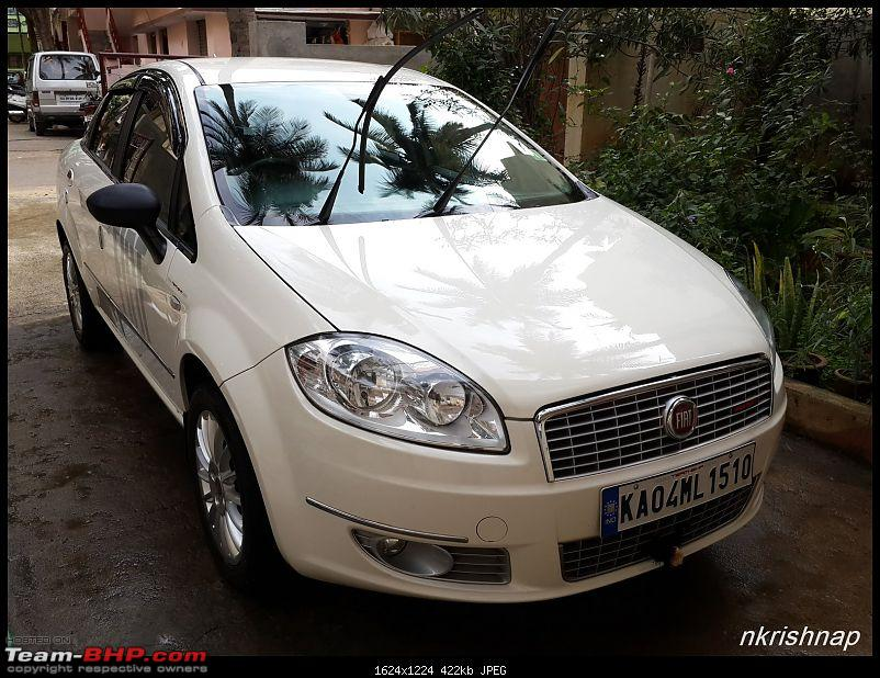 Petrol Hatch to Diesel Sedan - Fiat Linea - Now Wolfed-20141102_150308.jpg