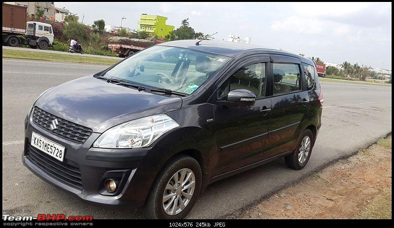 Tallboy welcomes longer companion: Maruti Ertiga VDi - 100,000 km now!-20141216_140905.jpg