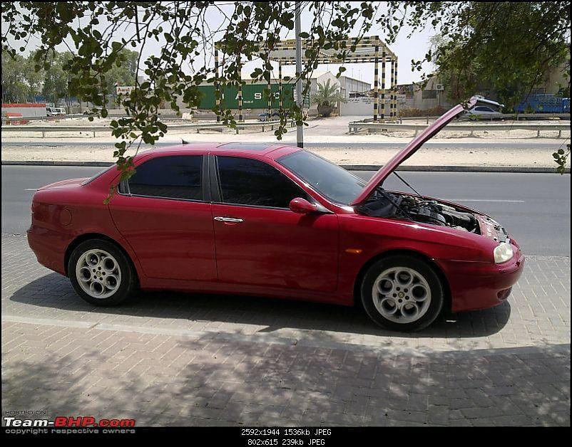 My Alfa Romeo Story - A 156, a red V6 & my own workshop!-2.jpg