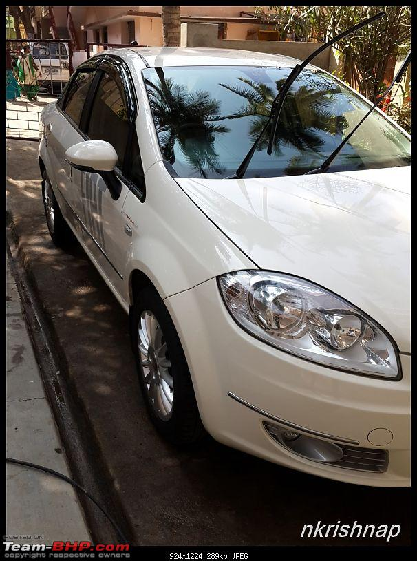 Petrol Hatch to Diesel Sedan - Fiat Linea - Now Wolfed-20150104_110844.jpg