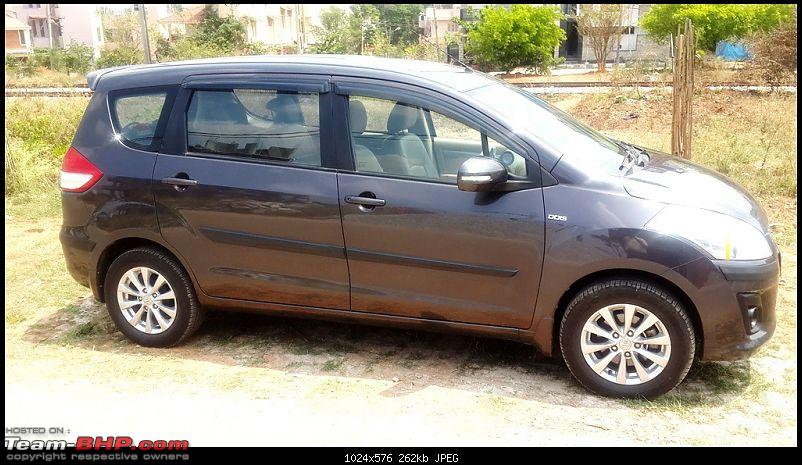 Tallboy welcomes longer companion: Maruti Ertiga VDi - 100,000 km now!-20150309_131154.jpg