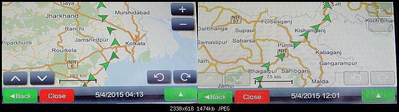 Mahindra XUV500 W8 FWD: My Pet Purple Cheetah-bhubaneswarsiliguriroute.jpg