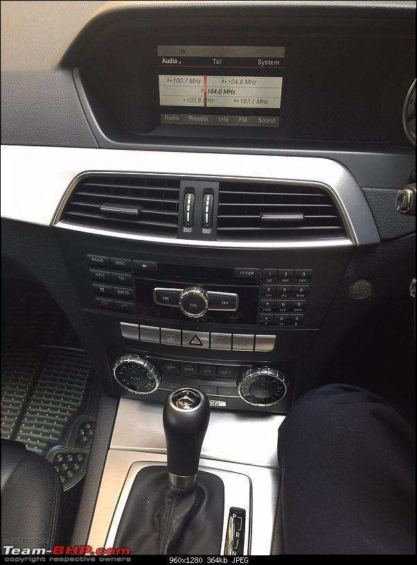 My Mercedes Benz C200 Avantgarde: 2 year ownership review-dashboard-great-fit-but-clustered.jpg