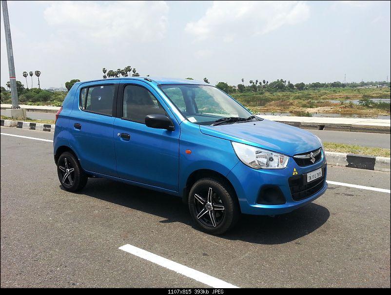My Go-kart. Maruti Alto K10 VXi AMT, Cerulean Blue - 60,000 km update-2.jpg