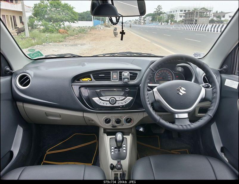 My Go-kart. Maruti Alto K10 VXi AMT, Cerulean Blue - 50,000 km update-10.jpg