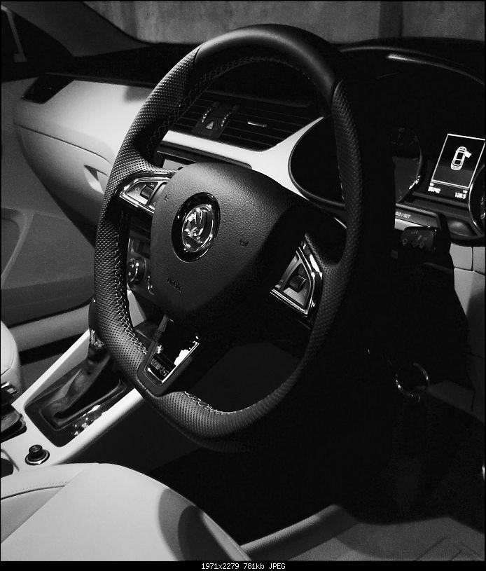 Love Hate Relationship: My Magic Black Skoda Octavia 1.8 TSI Elegance EDIT: 85000 km update!-steering.jpg