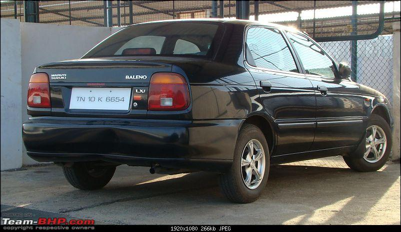 My Maruti Baleno LXi. So what's new, right? EDIT: 80K update on Page 9-dsc00753.jpg