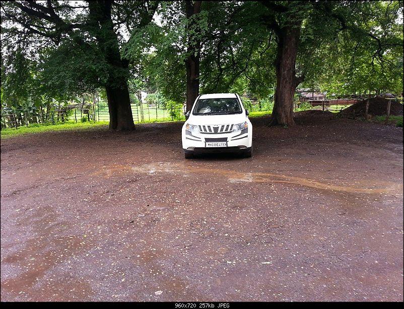 My Sunset Orange Mahindra XUV500 AWD W10. EDIT : 40000 km service update-1959446_10202550026085568_1094254176_n.jpg
