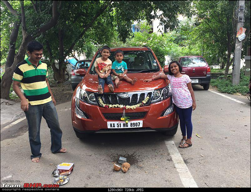 Ownership Tales - The Orange Cheetah! 2015 Mahindra XUV500 W10 FWD-allkidspose.jpg