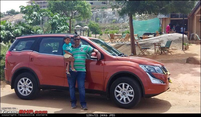 Ownership tales of Orange Cheetah, my 2015 Mahindra XUV5OO W10 FWD - 140,000 km and going strong!-outsideipc2.jpg