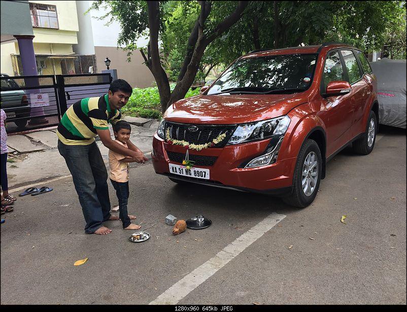 Ownership tales of the Orange Cheetah - 2015 Mahindra XUV5OO W10 FWD EDIT: 75,000 km up-pooja.jpg