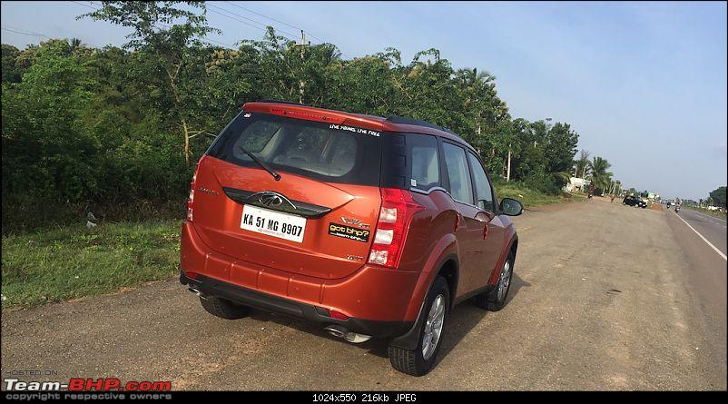 Ownership tales of Orange Cheetah, my 2015 Mahindra XUV5OO W10 FWD - 140,000 km and going strong!-hwystop.jpg