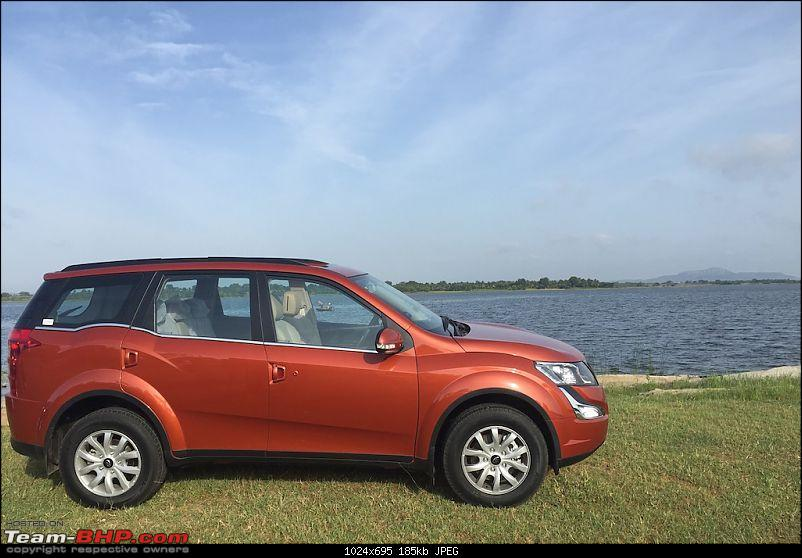 Ownership Tales - The Orange Cheetah! 2015 Mahindra XUV500 W10 FWD-lakeside.jpg