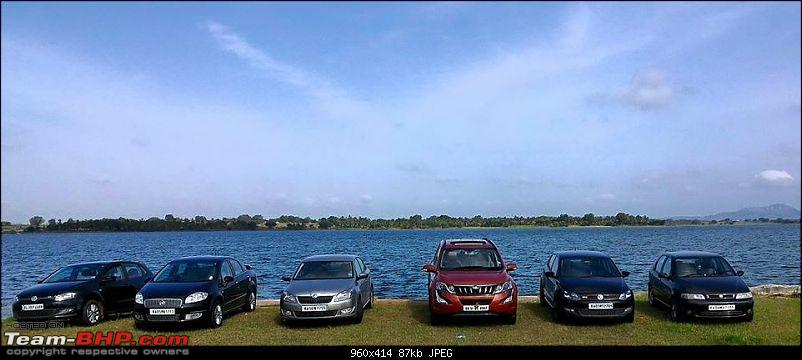 Ownership Tales Of Orange Cheetah - 2015 Mahindra XUV500 W10 FWD completes 50K+ Kms-lineup.jpg