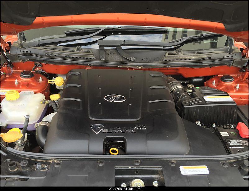 Ownership tales of the Orange Cheetah - 2015 Mahindra XUV5OO W10 FWD. EDIT: 80,000 km up-enginebay.jpg