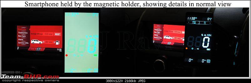 Mahindra XUV500 W8 FWD: My Pet Purple Cheetah-hud-normal-view.jpg
