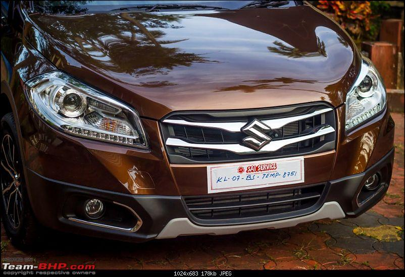 My Brown Little Hippo: Maruti S-Cross DDiS 200 Alpha-grille.jpg