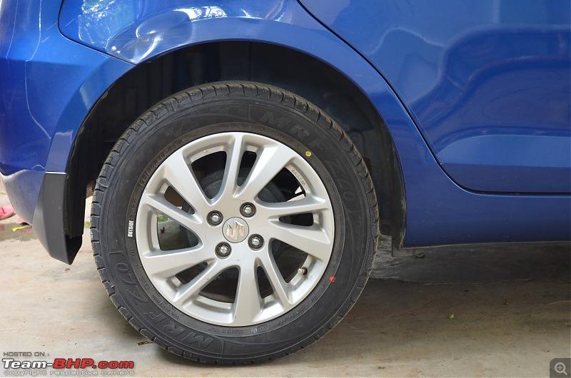 The story of a Blue Streak a.k.a Maruti Swift ZDi (Torque Blue). EDIT: 1,00,000 km up!-2.-rear.jpg
