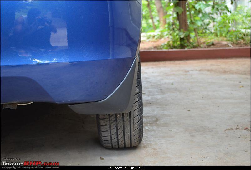 The story of a Blue Streak a.k.a Maruti Swift ZDi (Torque Blue). 1,20,000 km up & now sold-3.-view-behind.jpg