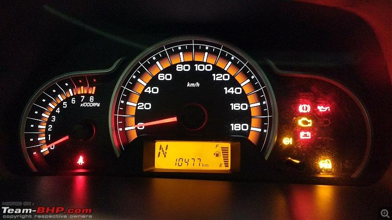 My Go-kart. Maruti Alto K10 VXi AMT, Cerulean Blue - 60,000 km update-current-speedo.jpg