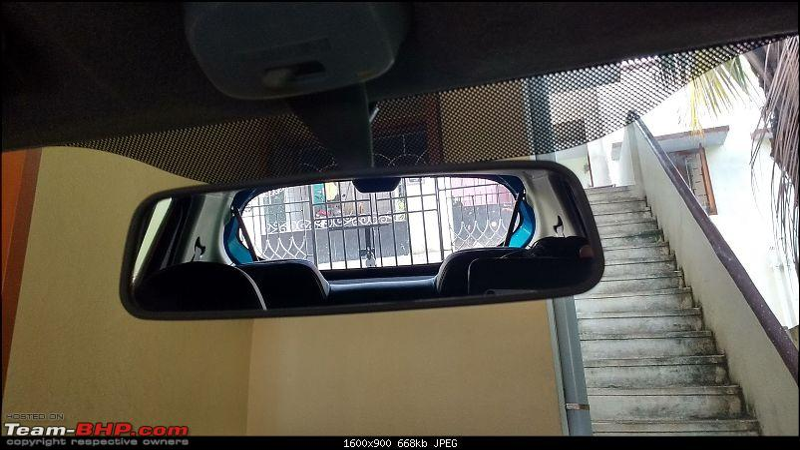 My Go-kart. Maruti Alto K10 VXi AMT, Cerulean Blue - 60,000 km update-irvm.jpg