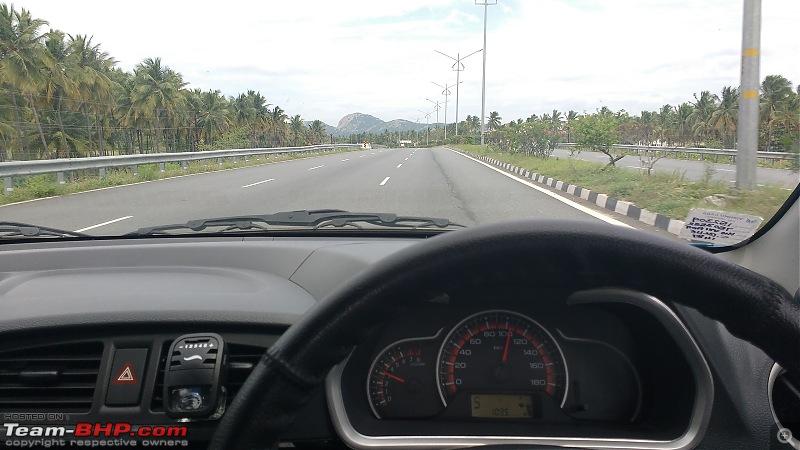 My Go-kart. Maruti Alto K10 VXi AMT, Cerulean Blue - 80,000 km update-pic-road.jpg