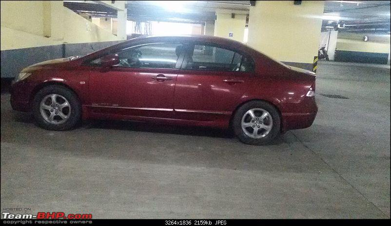 Honda Civic Independence : CNG'd. EDIT: 1,00,000 km up!-20151003_143509.jpg
