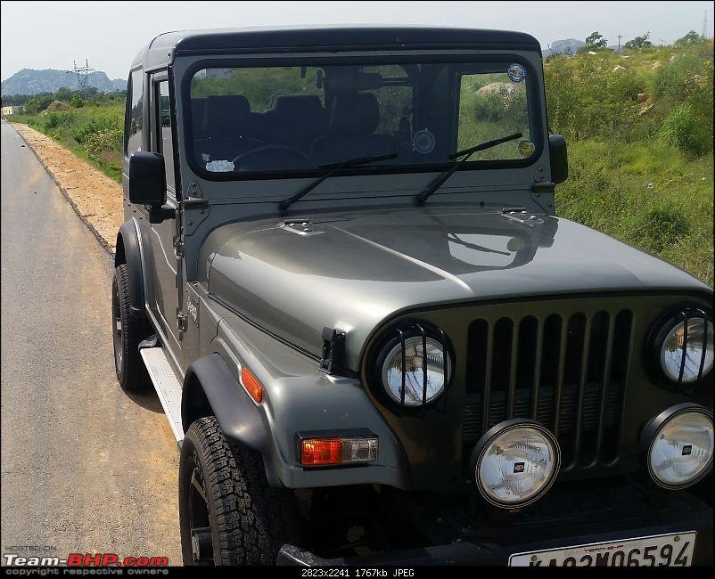 Call of the wild - Mahindra Thar CRDe-spacer-front-view.jpg