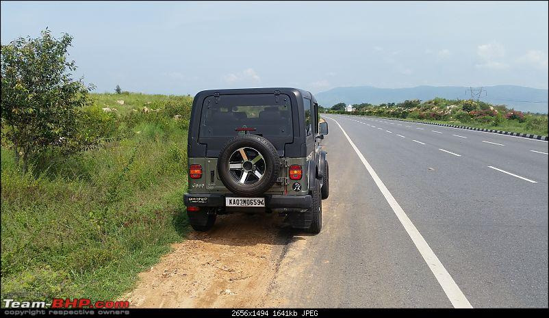 Call of the wild - Mahindra Thar CRDe-spacers-rear-view.jpg