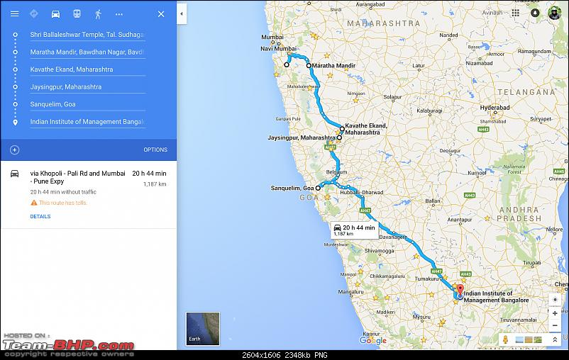 Ownership tales of the Orange Cheetah - 2015 Mahindra XUV500 W10 FWD completes 50,000+ km-returnjourney.png