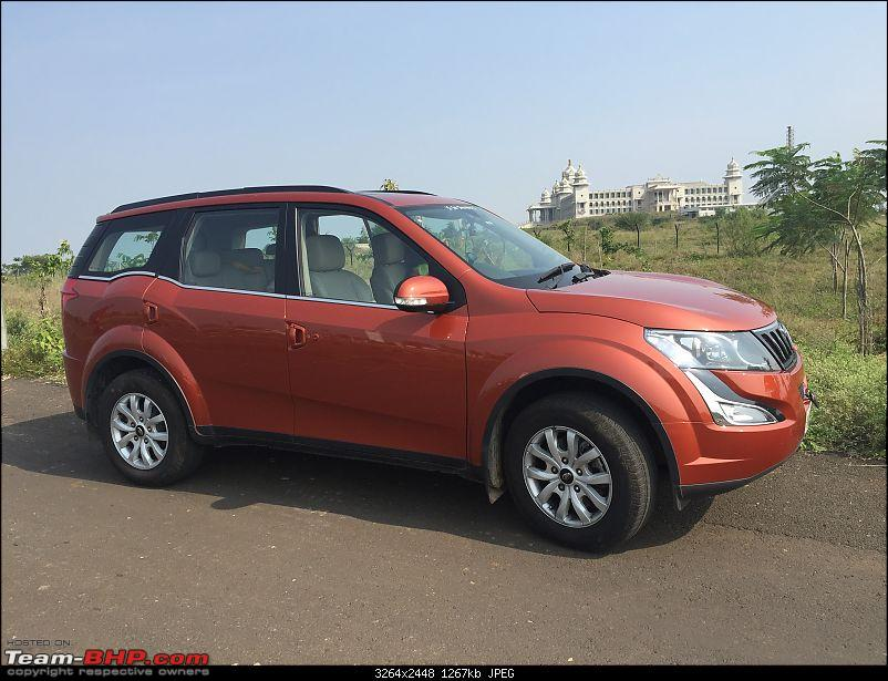 Ownership tales of the Orange Cheetah - 2015 Mahindra XUV5OO W10 FWD, 60000 km up-vidhansoudha.jpg
