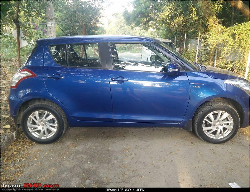 The story of a Blue Streak a.k.a Maruti Swift ZDi (Torque Blue). EDIT: 1,00,000 km up!-14.-full-side-view.jpg