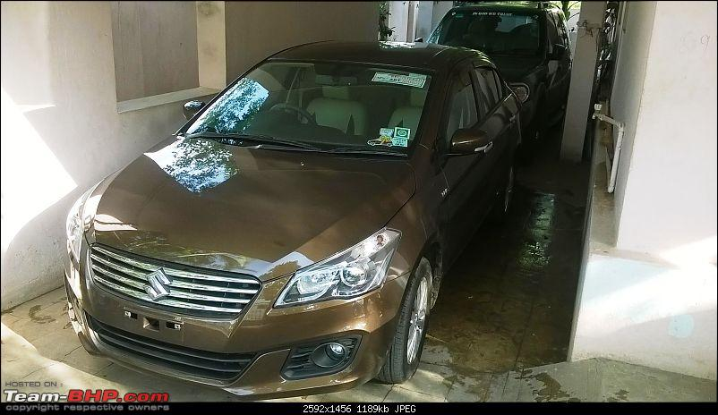 """My 2015 Maruti Ciaz ZDI - 1,33,000 km completed : Now Sold-withsafari.jpg"