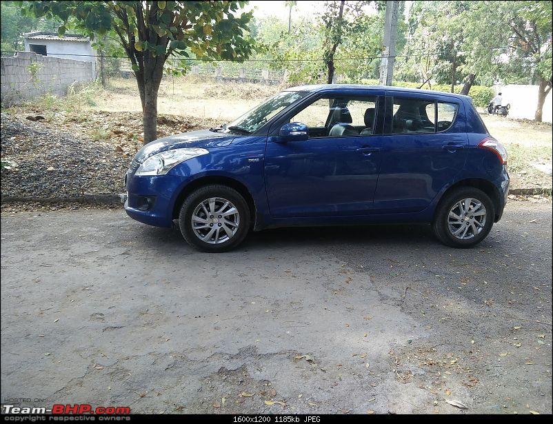 The story of a Blue Streak a.k.a Maruti Swift ZDi (Torque Blue). 1,20,000 km up & now sold-2.-my-car-waiting.jpg