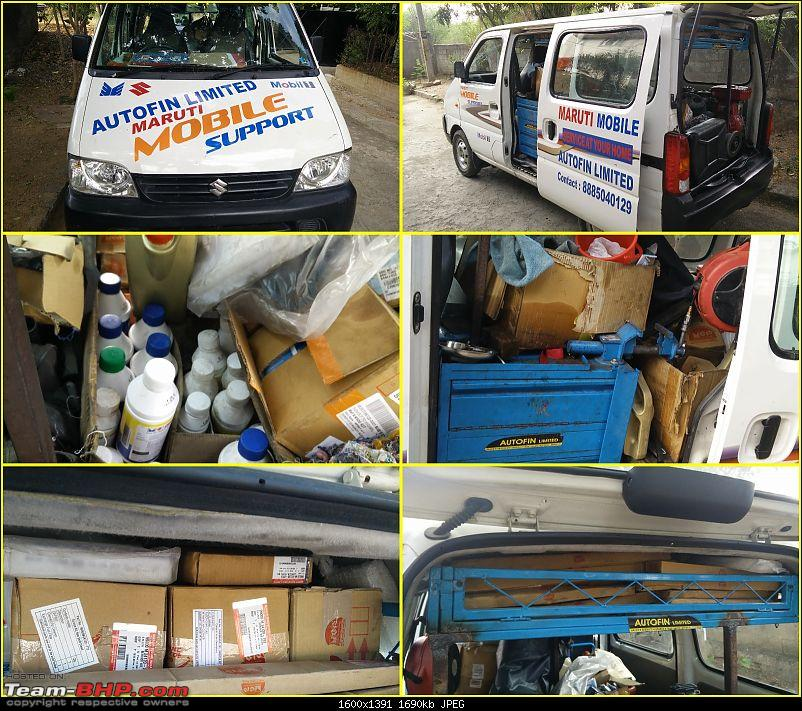 The story of a Blue Streak a.k.a Maruti Swift ZDi (Torque Blue). 1,20,000 km up & now sold-1.-service-van.jpg