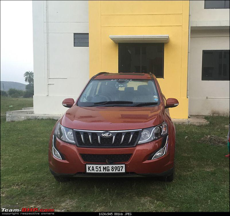 Ownership Tales - The Orange Cheetah! 2015 Mahindra XUV500 W10 FWD-imageuploadedbyteambhp1449047902.453602.jpg