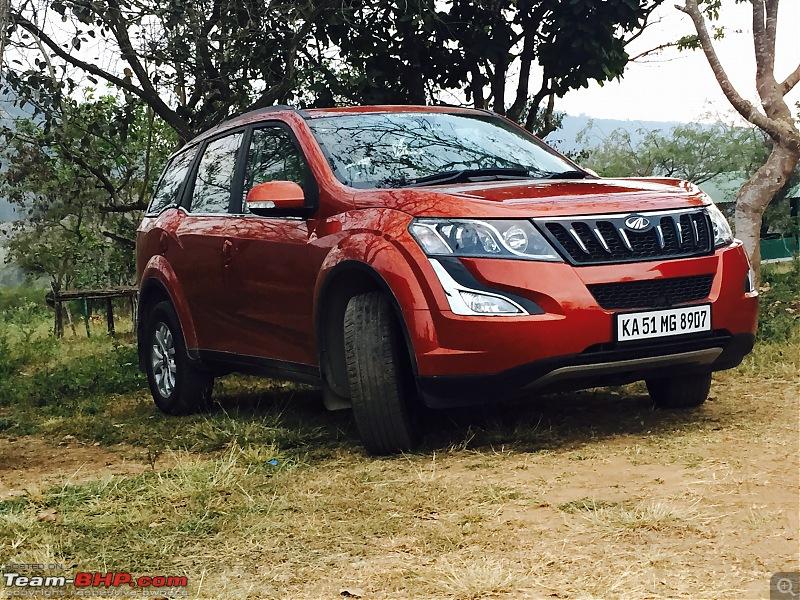 Ownership Tales - The Orange Cheetah! 2015 Mahindra XUV500 W10 FWD-1.jpg
