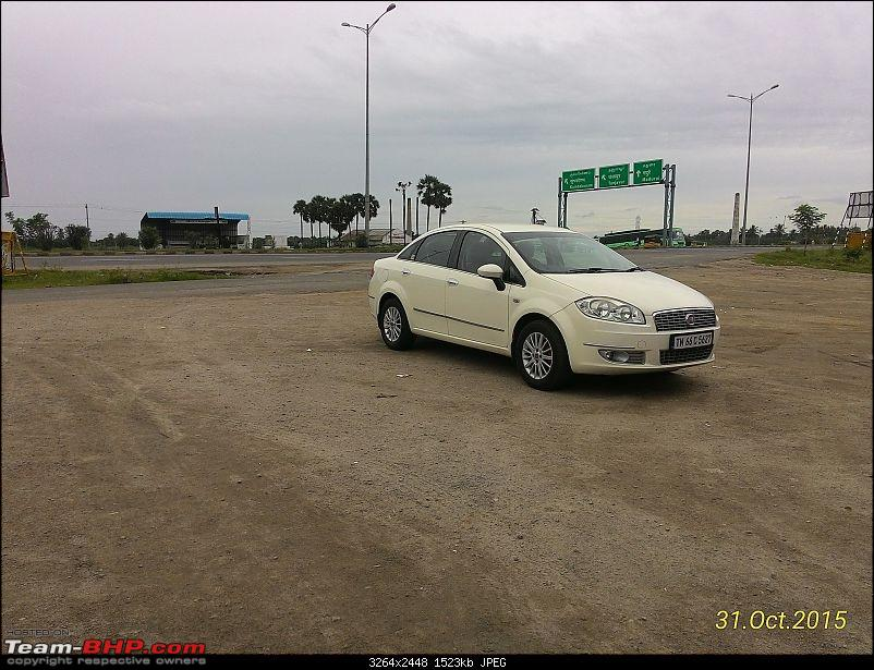 Code6'd Fiat Linea MJD: 100,000 kms & counting!-21.jpg