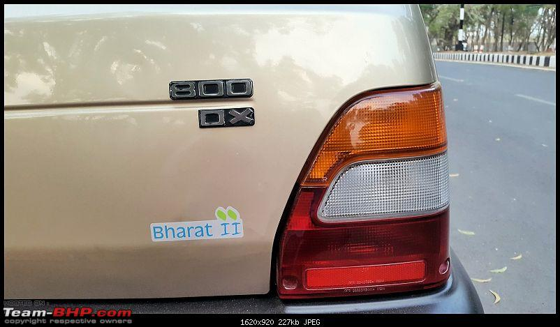 The love of my life - A 2000 Maruti 800 DX 5-Speed. EDIT: Gets export model features on Pg 27-bs2-badge.jpg