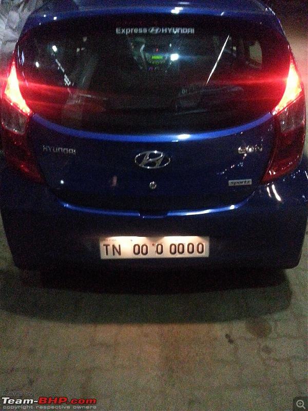 The Cute Little Blue-bee: Hyundai Eon Sportz!-20140929_204647.jpg